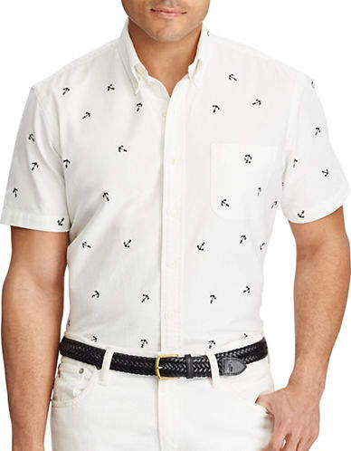 Polo Ralph Lauren Big and Tall Classic-Fit Cotton Shirt