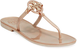 Tory Burch Mini Miller Flat Jelly Thong Sandals