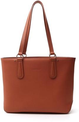 Longchamp Cavalcade Zipped Shopping Tote Bag