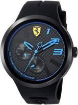 Ferrari Scuderia Men's 'FXX' Quartz Resin and Silicone Casual Watch, Color: (Model: 0830395)