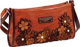 Nicole Lee Women's Liv Flower Cutout Small Shoulder Bag