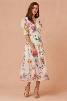 Keepsake ABOUT US MIDI DRESS creme botanic floral