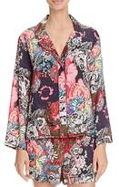 Josie Cosmos Shorty Notch Collar Pajama Set