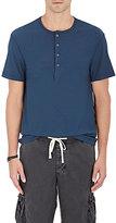 James Perse Men's Cotton-Linen Henley Shirt