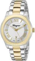 Salvatore Ferragamo Men's FQ1930015 Lungarno Analog Display Quartz Two-Tone Watch