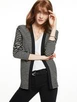 Scotch & Soda Striped Cotton Blazer
