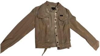 Calvin Klein Beige Denim - Jeans Jacket for Women