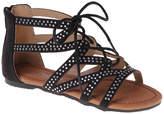 KensieGirl Strappy Tie Sandals