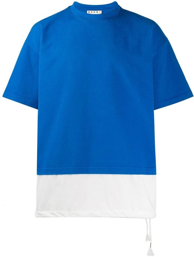Marni block colour T-shirt