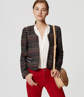 LOFT Piped Boucle Jacket