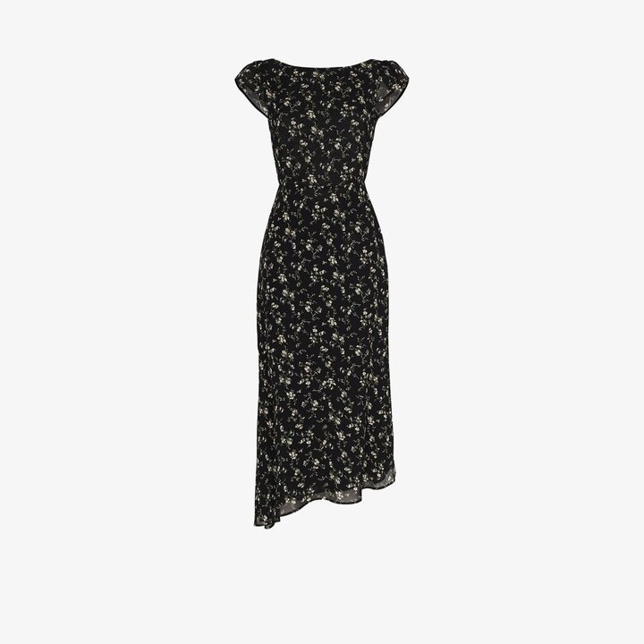 Thumbnail for your product : Reformation Underwood Floral Print Dress - Women's - Viscose