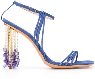 Jacquemus Lavandes 115mm sandals
