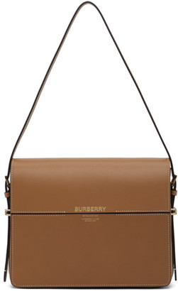 Burberry Tan Large Grace Bag