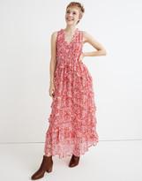 Madewell Banjanan Gizela Ruffled Maxi Dress
