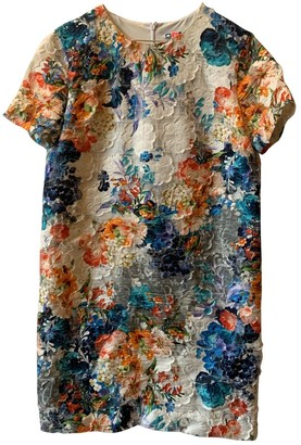 MSGM Multicolour Lace Dress for Women