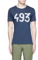 Denham Jeans '493' print cotton T-shirt