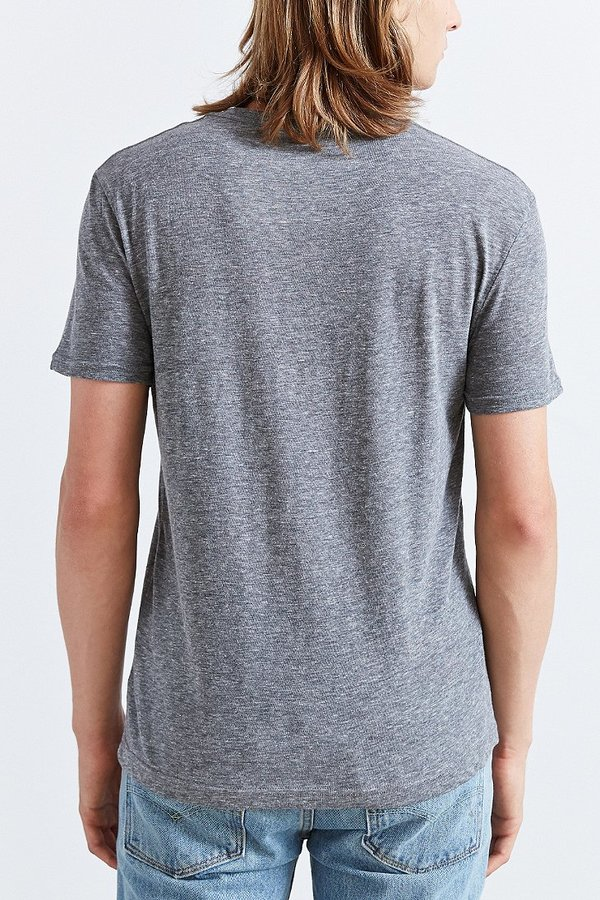 BDG Slim-Fit Triblend V-Neck Tee