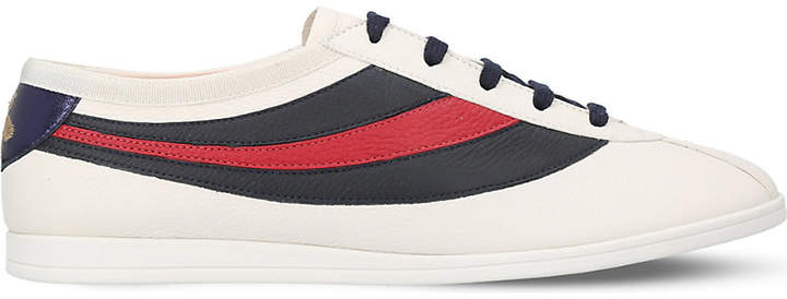 Gucci Falacer leather trainers