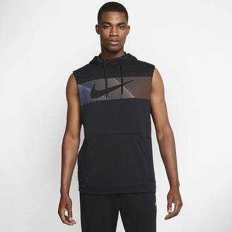 Nike Men's Sleeveless Pullover Training Hoodie Dri-FIT