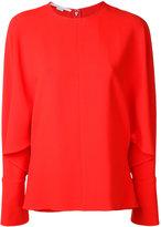 Stella McCartney drape sleeve blouse - women - Spandex/Elastane/Acetate/Viscose - 38