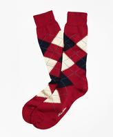 Brooks Brothers Argyle Crew Socks