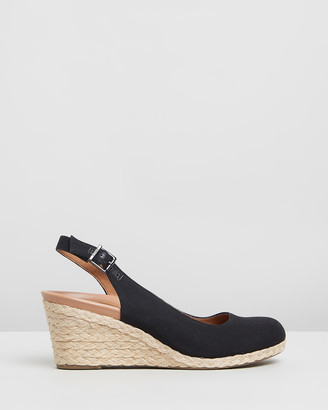 Vionic Women's Black Heels - Coralina Wedges - Size One Size, 6 at The Iconic