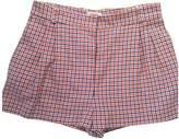 Paul & Joe Sister Orange Cotton Shorts for Women
