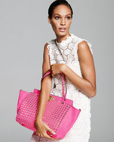 Valentino Rockstud All Over Medium Tote Bag, Pink