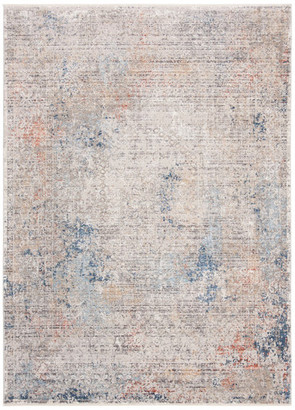 Safavieh Dream Collection DRM426 Rug, Gray/Blue, 5'x8'