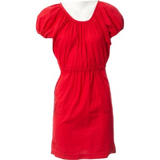 Miu Miu Red Cotton Dresses