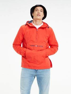Tommy Hilfiger Lightweight Pull-On Hooded Jacket