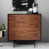 west elm Modernist Wood + Lacquer 3-Drawer Dresser