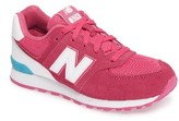New Balance Toddler 574 Core Plus Sneaker