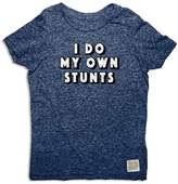 Original Retro Brand Boys' I Do My Own Stunts Tee