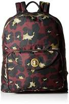 Baggallini Brussels Laptop Scrlt Cheetah Backpack