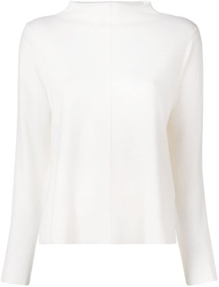 Lorena Antoniazzi Funnel Neck Jumper