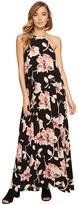 Brigitte Bailey Capri High Neck Spaghetti Strap Maxi Dress Women's Dress