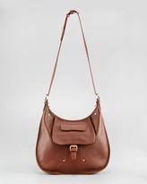Longchamp Adjustable Crossbody Bag, Oak Brown