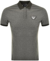 Giorgio Armani Jeans Short Sleeved Polo T Shirt Green