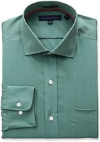 Tommy Hilfiger Men's Non Iron Regular Fit Solid Spread Collar Dress Shirt