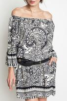 Umgee USA Paisley Day Dress