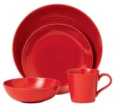 Gordon Ramsay Stoneware 4-Pc. Dining Set Red