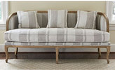 Swedish Stripe Curved Sofa