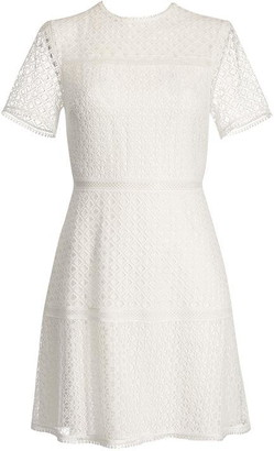 Ted Baker Allara Short Sleeved Lace Mini Dress