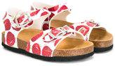 MonnaLisa strawberry sandals