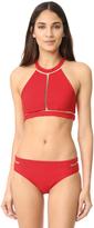 Alexander Wang Crew Neck Bikini Top