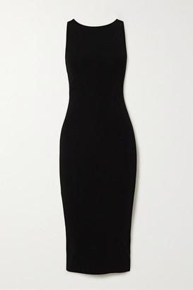 GAUGE81 Madrid Cutout Stretch-knit Midi Dress - Black