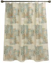 Bacova Coastal Moonlight Fabric Shower Curtain
