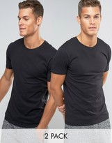 Levis Levi's Crew Neck T-shirt In 2 Pack In Regular Fit