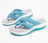 Clarks CLOUDSTEPPERS by Jersey Thong Sandals - Arla Jane